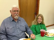Jack Williams and Granddaughter_3.15.15