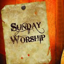 Sunday Worship post